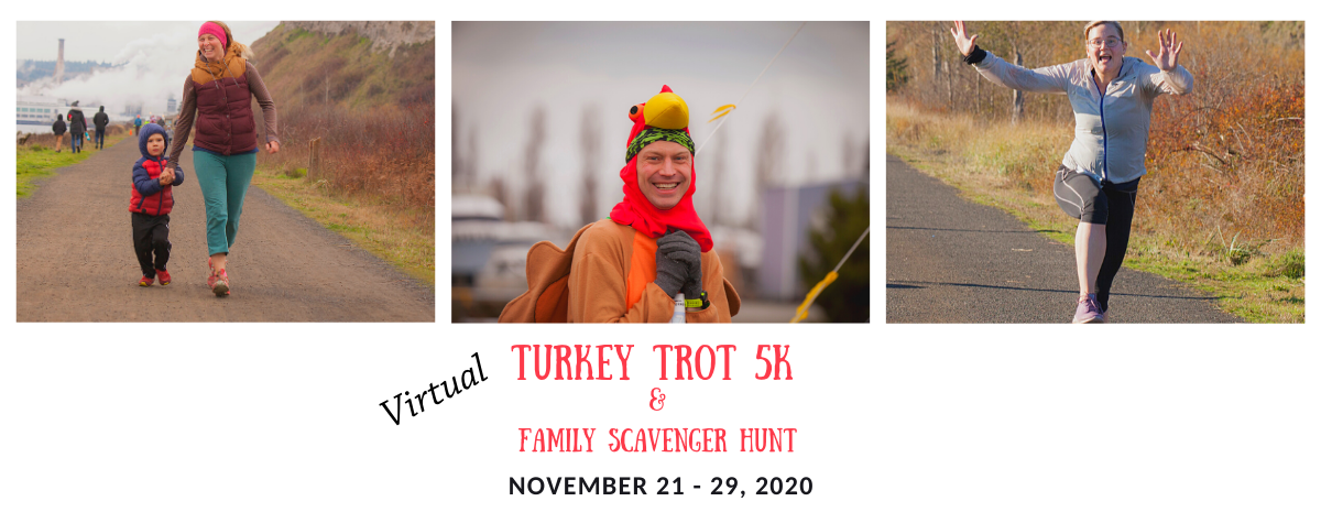 Virtual Turkey Trot 5k and Family Scavenger Hunt